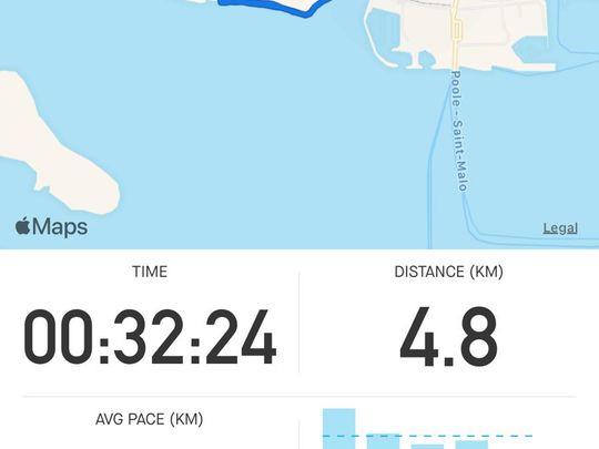 Running Three....