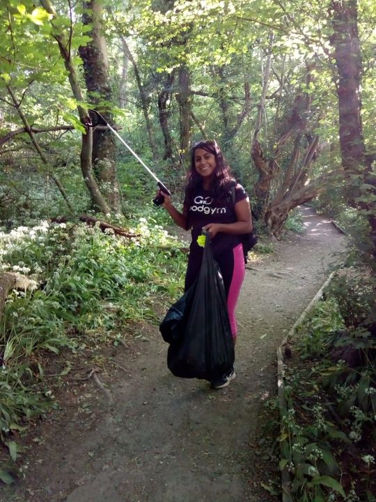 Goodgym Tuesday - Litterally