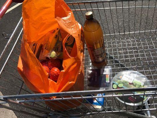 Shopping for Mrs J