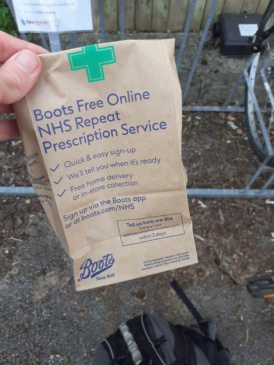 Last minute shops and prescription pickups