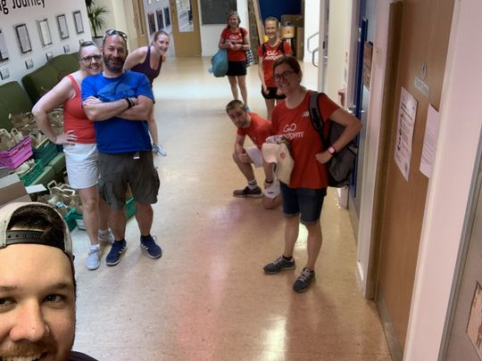 Bank Holiday double Goodgym goodness