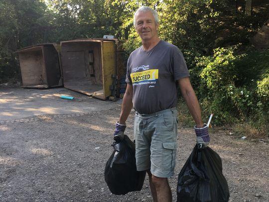 Lockdown litter pick in the bag !