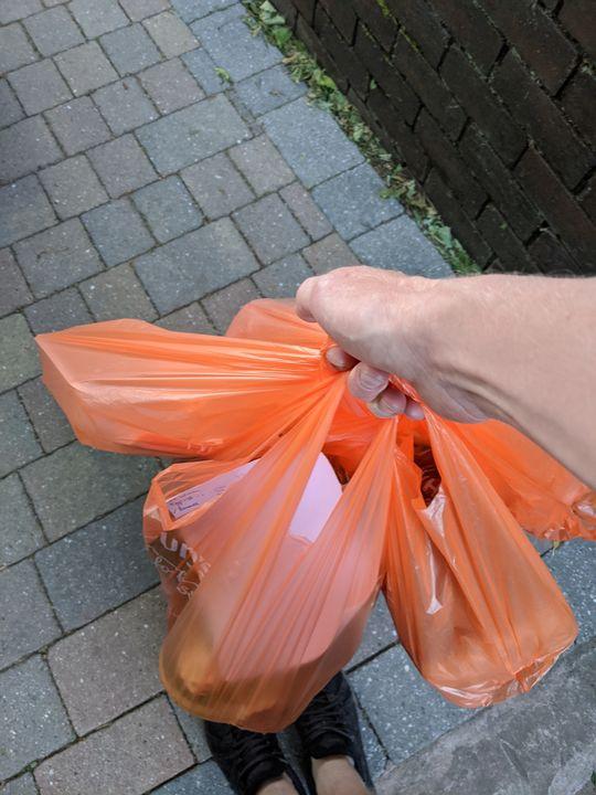 Deliver groceries for Ms J