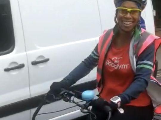 Cargo bike skills