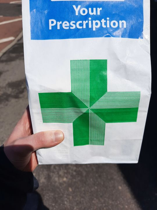 Another prescription delivery