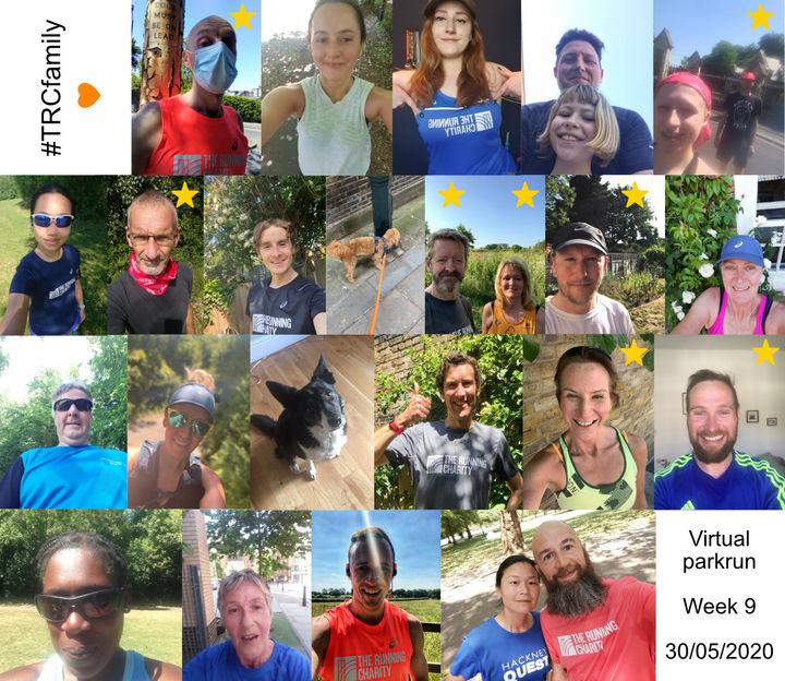 The Running Charity Virtual 5k series- not a parkrun!