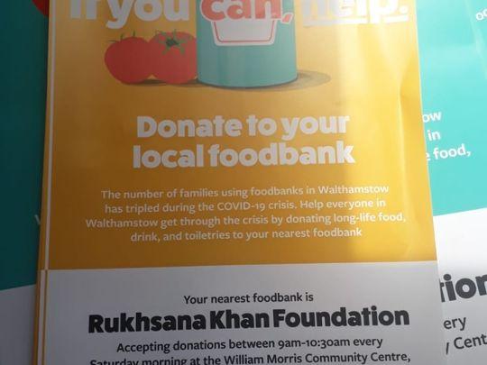 Foodbank Support