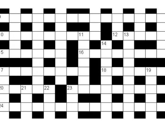 Crossword for Mrs C