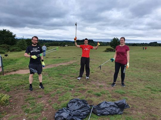 GoodGym's Soccer Saturday!