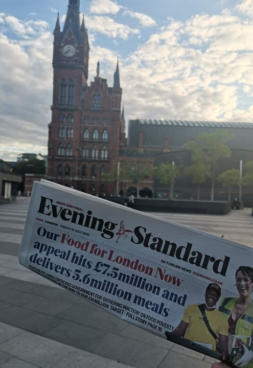 Evening Miles for the Evening Standard