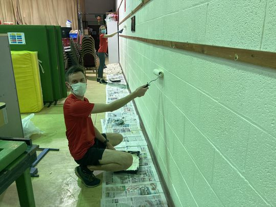 Getting Reaqu-painted with Decorating!