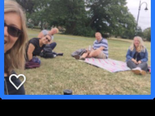 Redbridge picnic lunch and natter