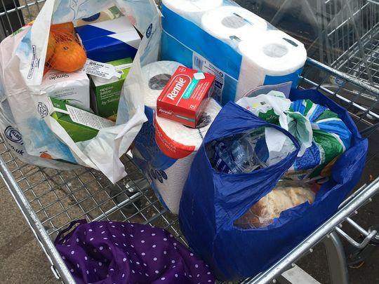 Mrs J's groceries