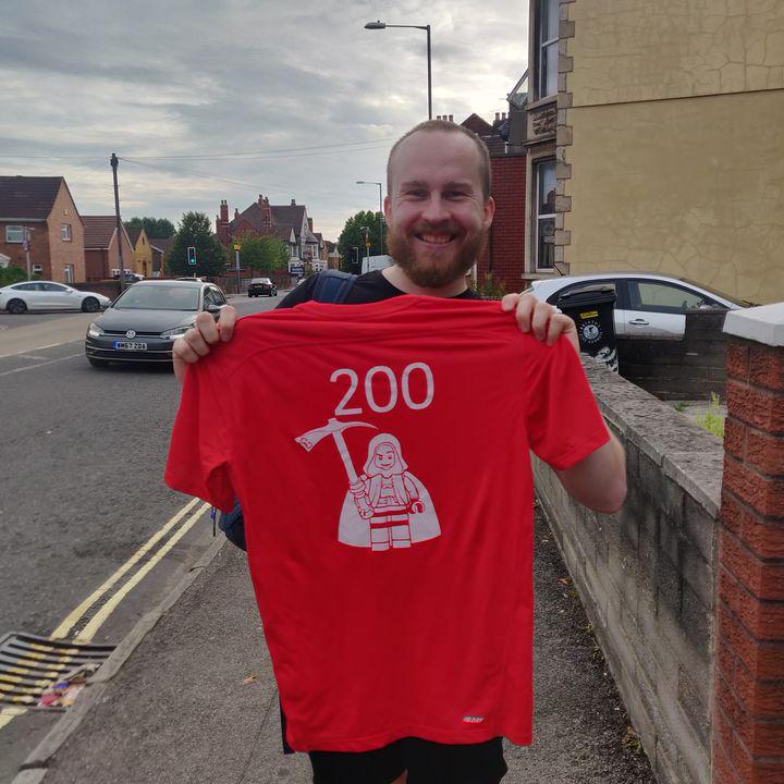 Great Scott! He's got 200