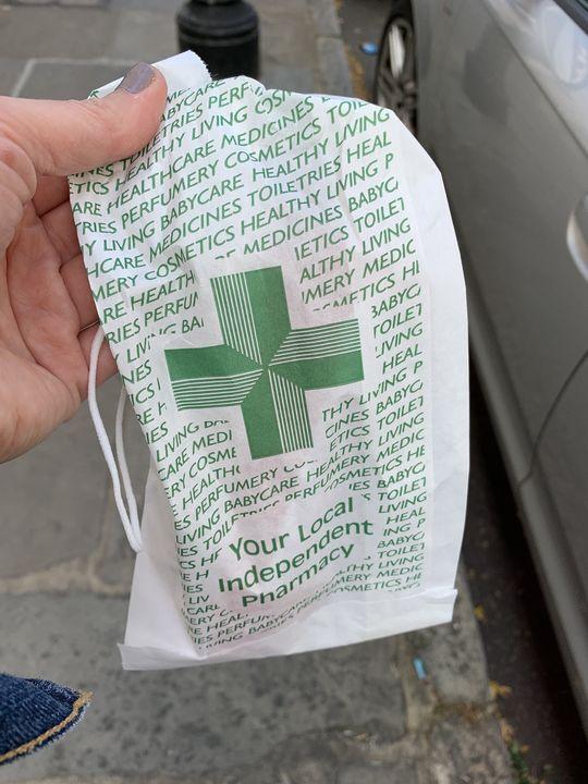Pharmacy pick up