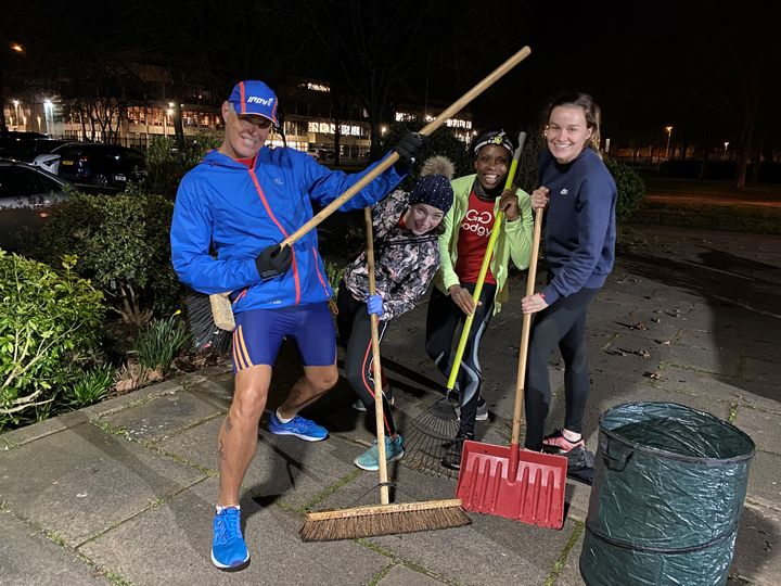 Garden Tidy-Up at St Paul's Church and Community Centre