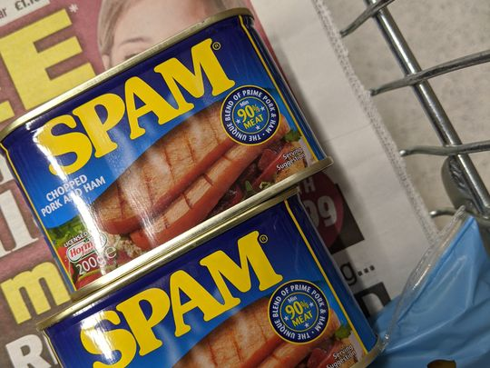 Wham, bam, thank you SPAM