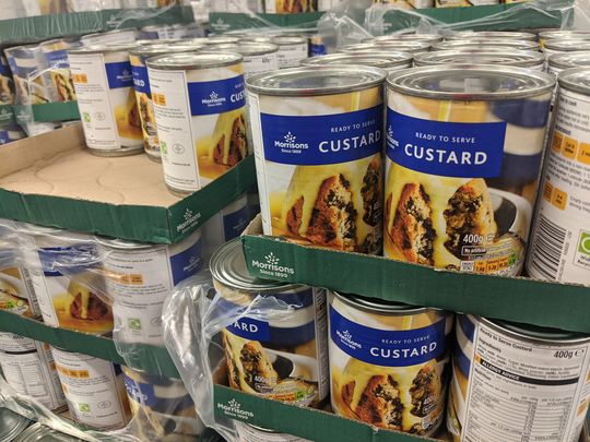Hope these boxes cut the custard!