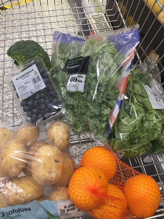 More fruit, more veg