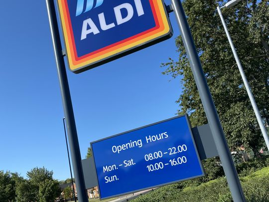 Could do this ALDI long...