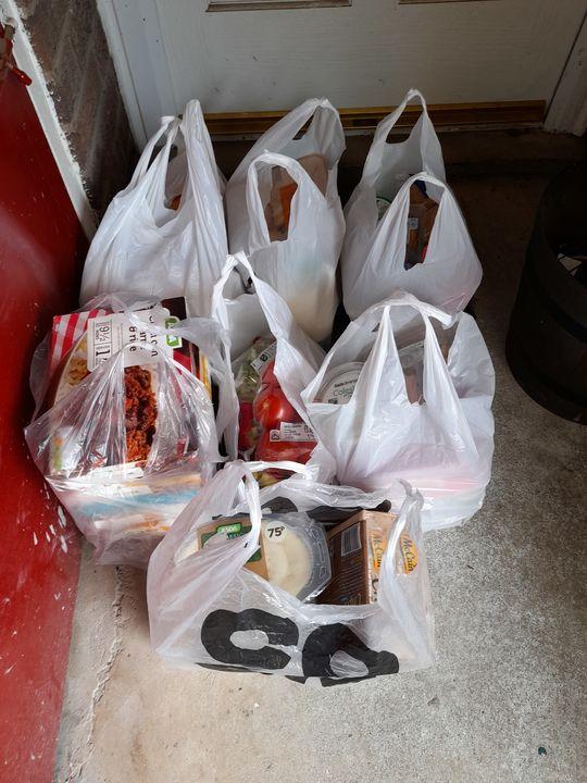 Deliver groceries for Mr D