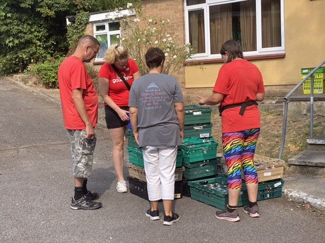 TOMATOES JUST ANOTHER DAY ~ THE BEXLEY FOOD BANK MISHHHHHHH