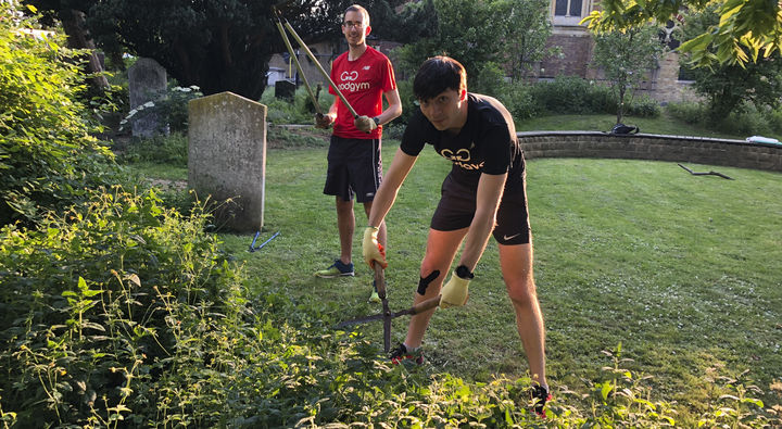 Gardening at St. Mary's Church (plus a run before if you fancy!)