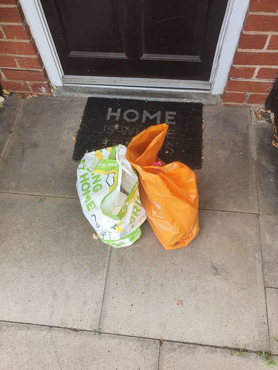 Deliver groceries for Mr S