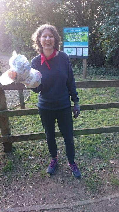 Litter Pick in Highwoods