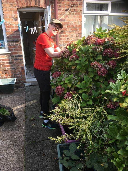 Another Trip To Help Clear Alan's Garden