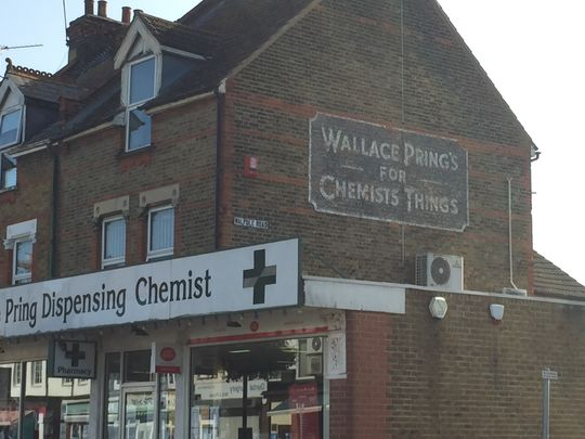 Who was Wallace Pring, I wonder?