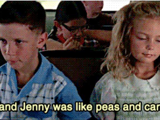 Like peas and carrots