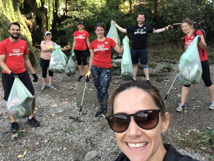 GoodGym X Coastal Clean Up Day 2020