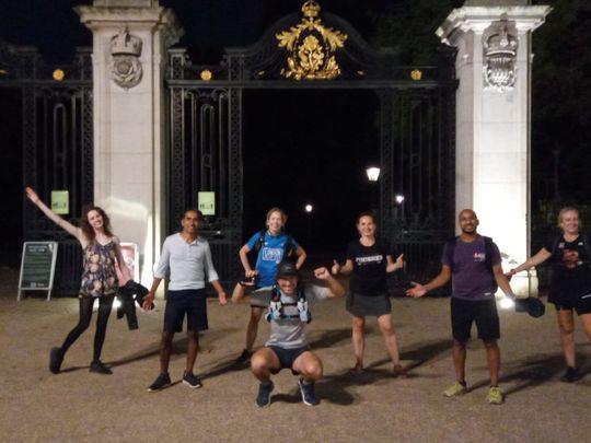 Goodgym walks the London Marathon!