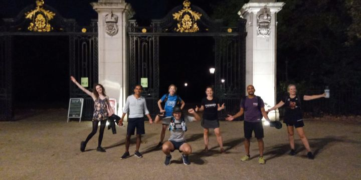 Goodgym walks the London Marathon!