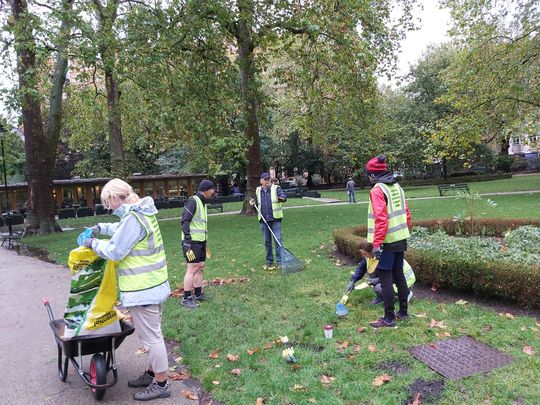 Community spirit in Central London
