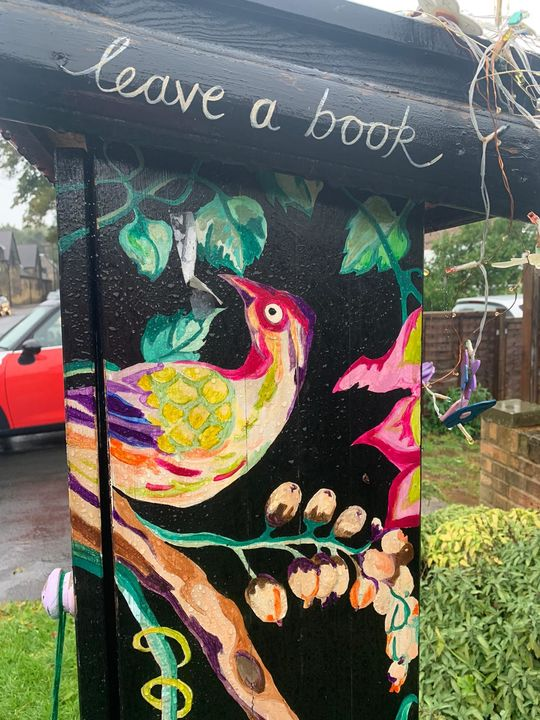 Soggy Run to Check the Headingley Leeds Little Free Libraries