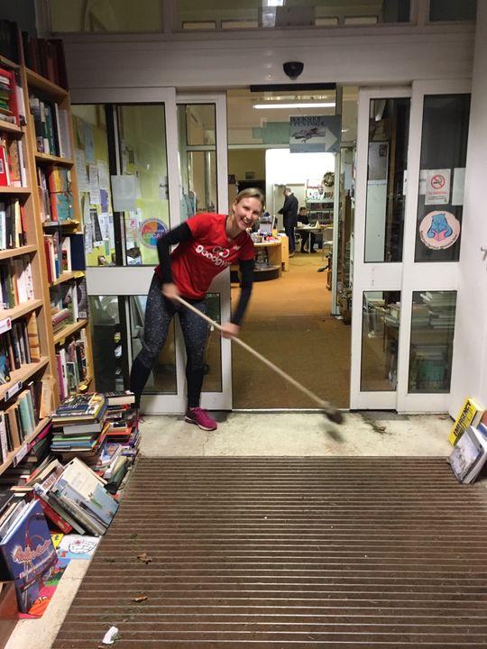 Lifting and shifting at Crofton Park Library