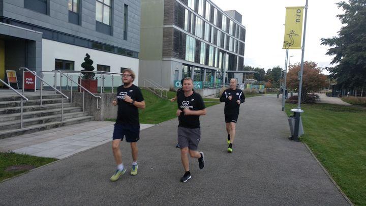 Run to St John Church Hall
