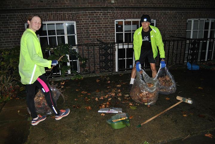 Five Go Sweeping In Camden Town
