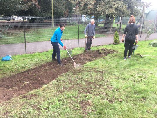 Gardening at Eastville Park
