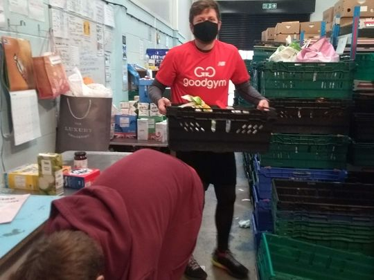 Five Go Down to the Foodbank