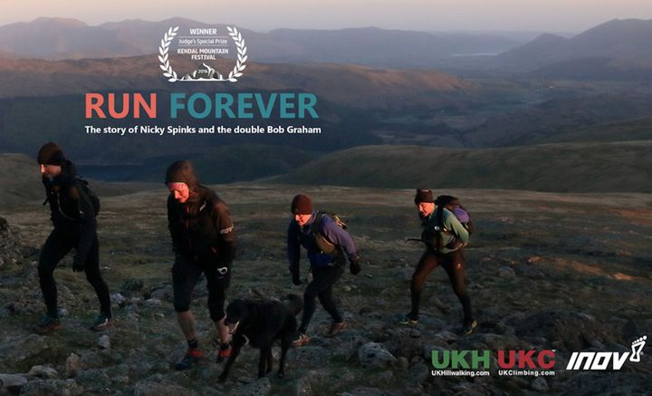 """Adventure Film Watch Party: """"Run Forever: Nicky Spinks & the Double Bob Graham"""""""