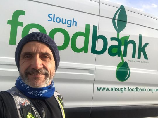 Donating to the foodbank