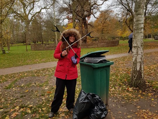 "It wasn't a cheesy litter pick but there was a mask-a-pony...what a ""deer"" pun!"