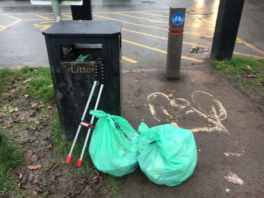 Lockdown litter