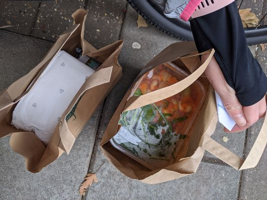 Hot food delivery #1
