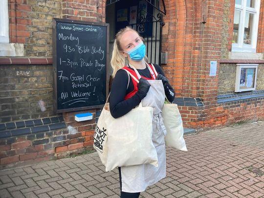 Our task had plenty of sacks a-peel