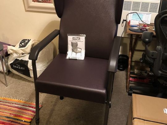 Chair-ity begins at home.