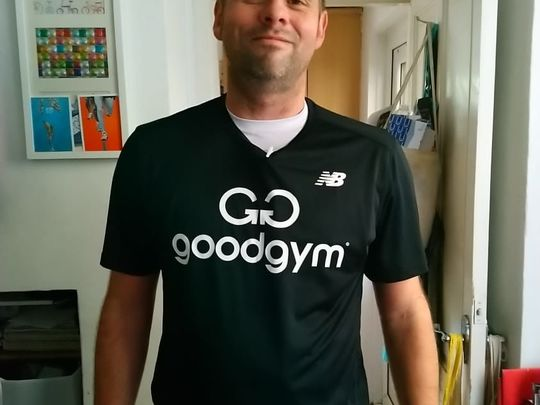 GoodGym, The Red-Shirt Relay!